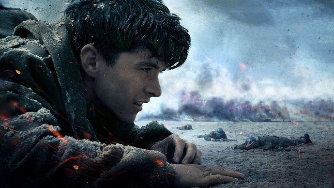 Synkkä ja realistinen sotaelokuva Dunkirk