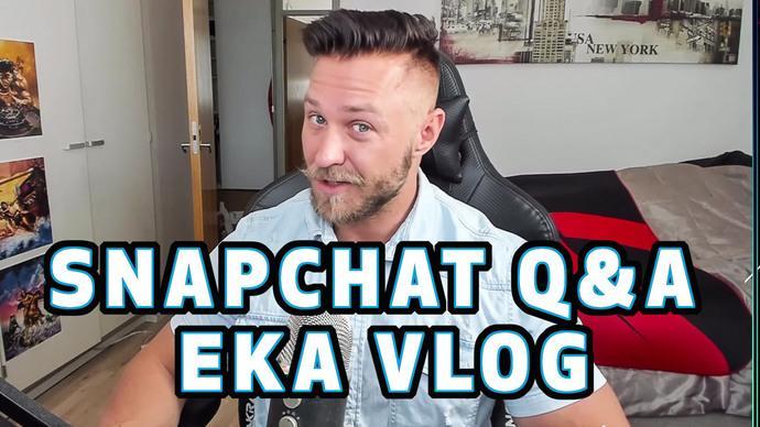 Snapchat -kysy ja vastaa!