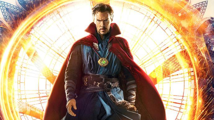 """Dr. Strange - Marvelin """"oudoin"""" leffa"""